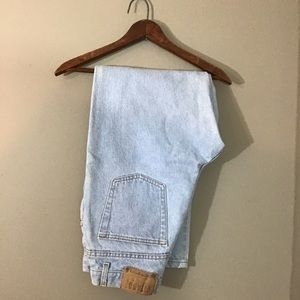 Vintage Gitano Light Wash Mom Jeans
